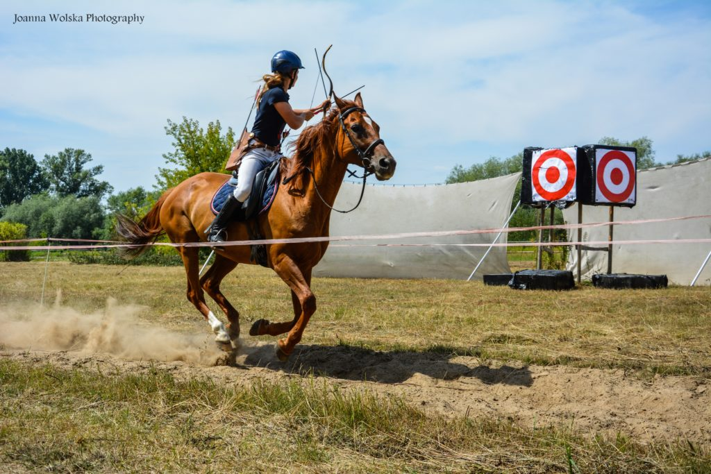II Horseback Archery Competition in Łomianki